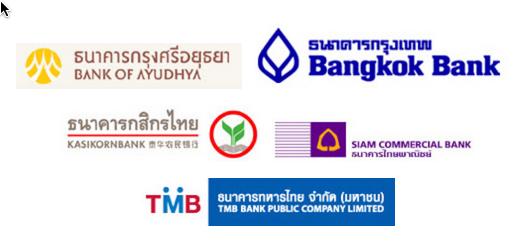 Thai Bank Logos
