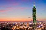 Taipei 101 and skyline